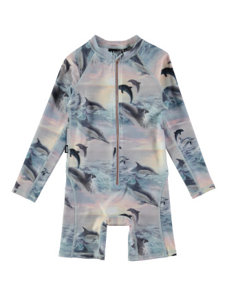 Dolphins Sunset Swimsuit (12 Months-2 Years)