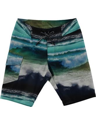 Ocean Stripe Boardie (4-12 Years)