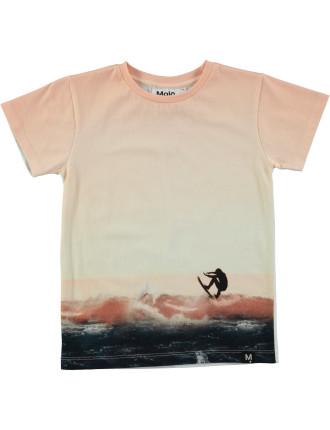 Peach Beach T-shirt (4-6 Years)