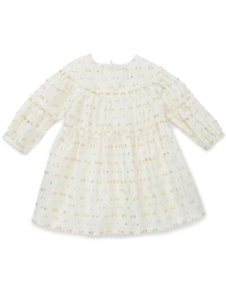 WINTER LAYETTE DRESS (1-3 Years)