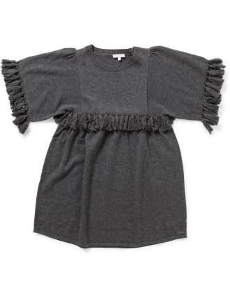GIRL KNITTING DRESS (8-12 Year)