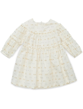 WINTER LAYETTE DRESS (1 year)