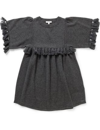 GIRL KNITTING DRESS (6 Year)