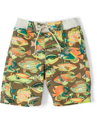 Allover Printed Swimshorts Age Size 2-7 $48.96