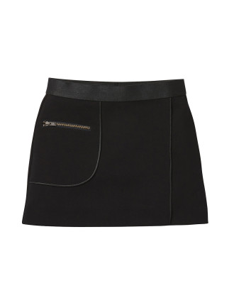 Zip Trim Skirt