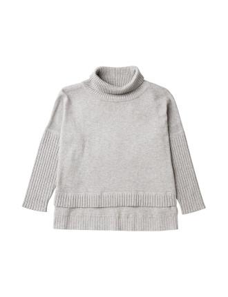Step Hem Knit