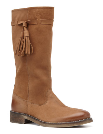 Tall Fringe Boot