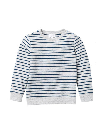 Reverse Breton Sweater