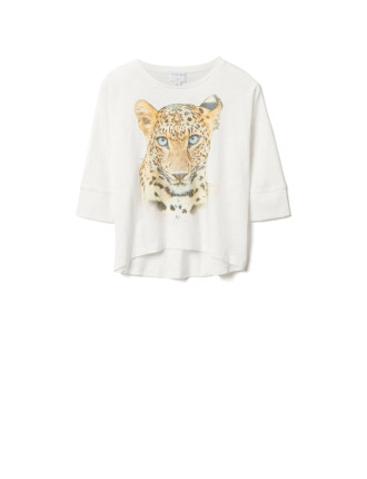 Hi Low Animal Top