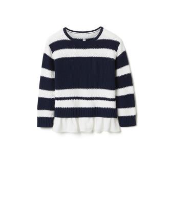 Woven Underlay Knit
