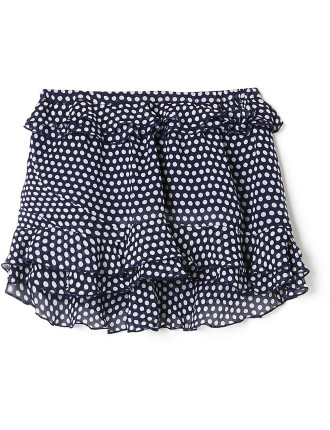 Kids Layered Frill Skirt