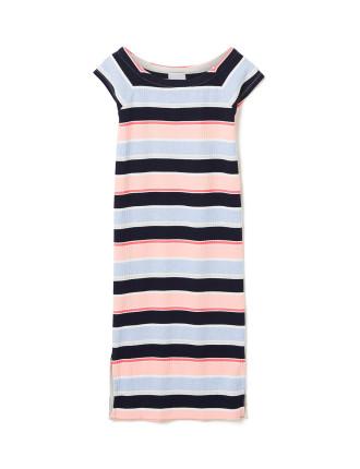Stripe Rib Dress