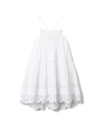 Lace Spliced Dress