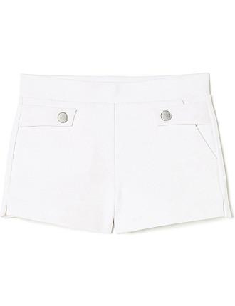 Button Tuck Short