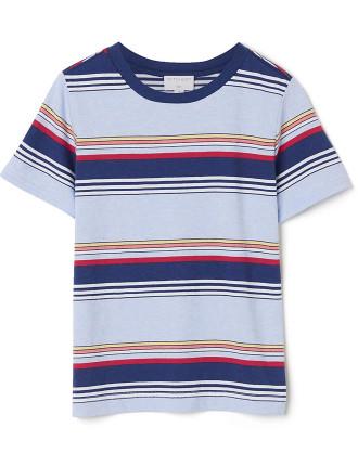 Coloured Stripe T-Shirt