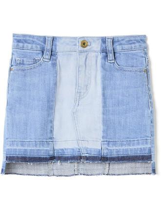 Shadow Denim Skirt
