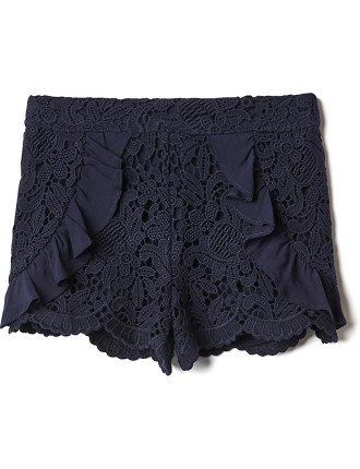Kids Lace Frill Short