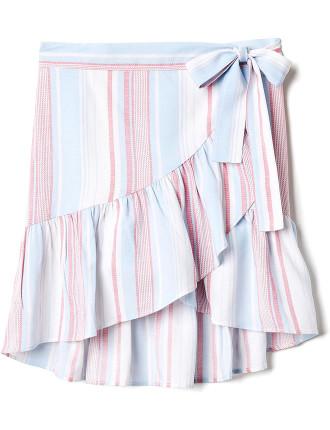Kids Stripe Skirt
