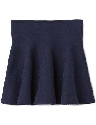 Knit Flip Skirt