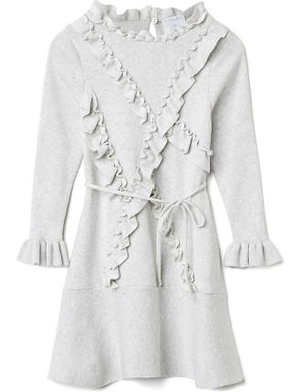 Frill Trim Dress