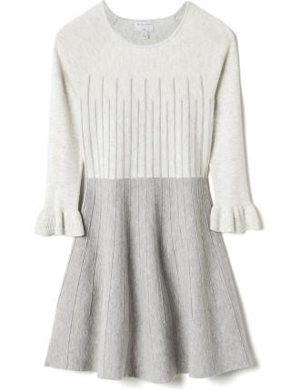 Raglan Contrast Knit