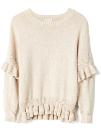 Ruffle Knit