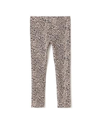 Kids Leopard Print Leggings