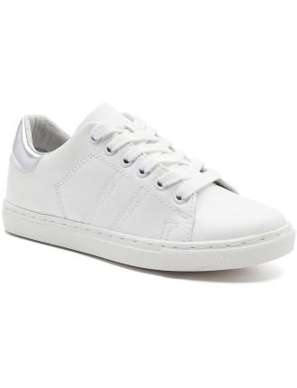 Kids Metallic Back Sneaker