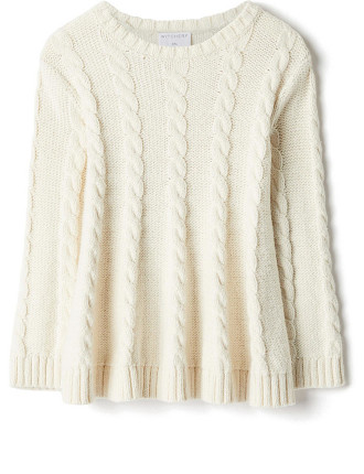 Cable Knit Tunic
