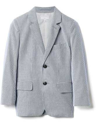 Kids Fine Stripe Jacket