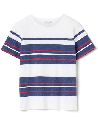 Kids Multi Stripe Tee