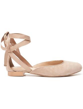 Tie Front Shoe