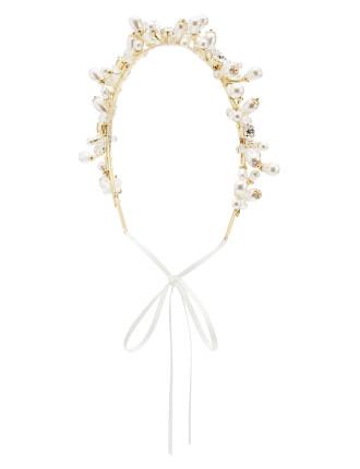 Girls Pearl Headpiece