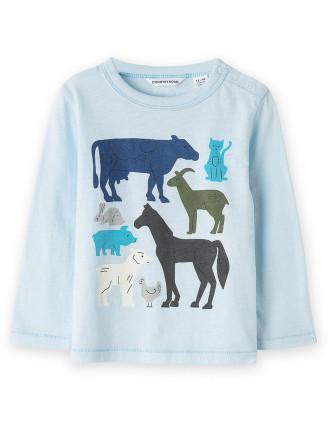 Farm T-Shirt 0-24 months