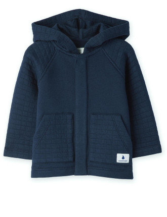 Quilted Hoodie 0-24 months