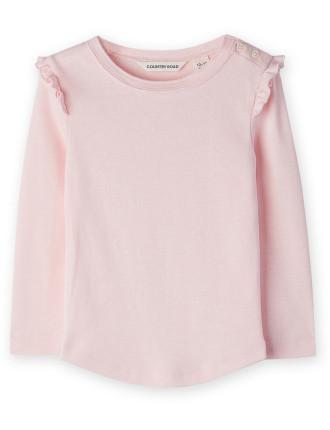Frill Detail T-Shirt 0-24 months