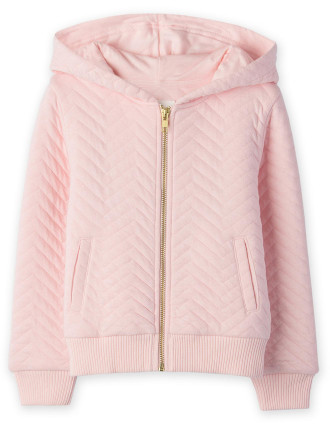 Quilted Hoodie 2-12 years