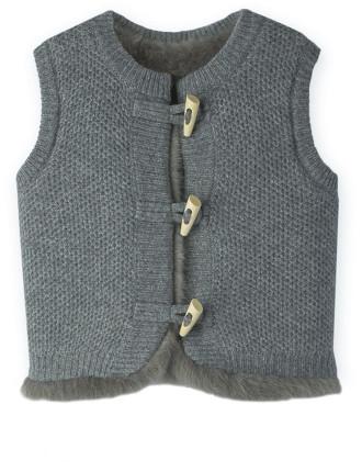 Reversible Knit Vest 0-24 months
