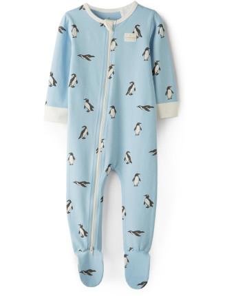 Penguin Jumpsuit 0-24 months