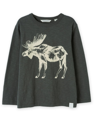 Moose T-Shirt 2-12 years