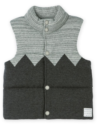 Zig Zag Knit Vest 2-12 years