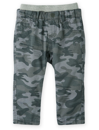 Camo Woven Pant 0-24 months