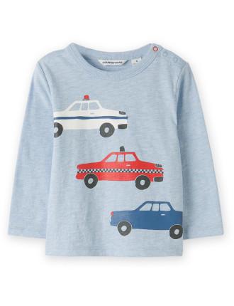 Vehicle T-Shirt 0-24 months