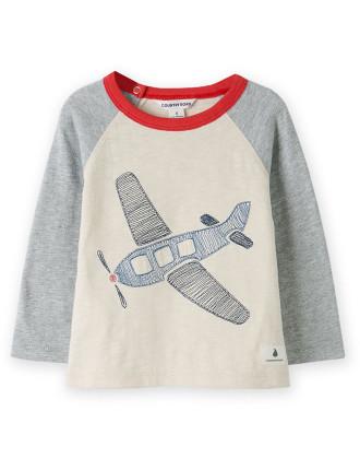 Plane T-Shirt 0-24 months