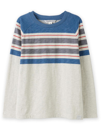 Stripe T-Shirt 2-12 years