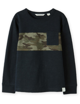 Camo Chest T-Shirt 2-12 years