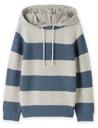 Hooded Stripe Knit 2-12 years