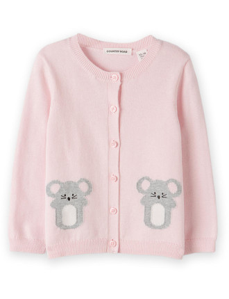 Mouse Knit Cardigan 0-24 months