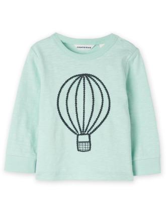 Hot Air Balloon T-Shirt 0-24 months