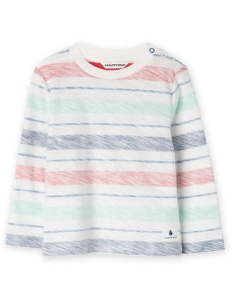 Multi Stripe T-Shirt 0-24 months